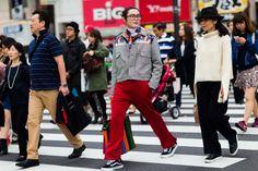 Street Style from Tokyo Fashion Week #japan #fashionweek #streetstyle #man