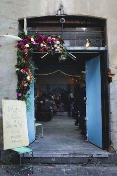 Industrial wedding at Bang Bang Boogaloo
