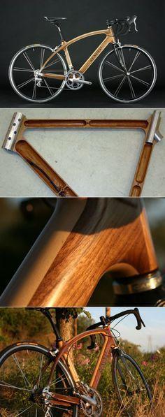 Sean Denham & Renovo's Wood Frame Bicycle
