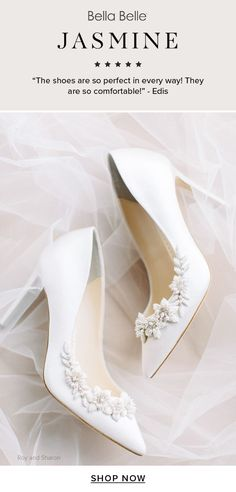 The most perfect and comfortable bridal heels wedding shoes for your wedding day, as reviewed by real brides. #weddingshoes #weddingheels Bridal Heels, Wedding Shoes Heels, Wedding Dress Accessories, Wedding Dresses, Unique Dresses, Hair Pieces, Unique Weddings, Brides, Wedding Day