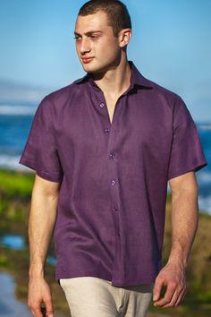 1000 images about mens linen shirts on pinterest amalfi for Mens short sleeve linen dress shirts