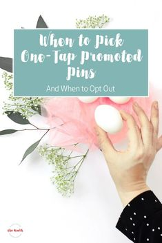 When to pick one-tap promoted pins Content Marketing Tools, Marketing Articles, Inbound Marketing, Social Media Marketing, Digital Marketing, Marketing Strategies, Pinterest Advertising, Pinterest Marketing, Advertising Ideas