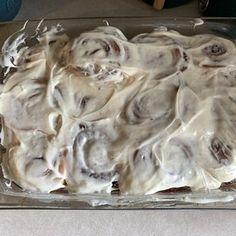 The Best Cinnamon Rolls Cinnamon Bun Recipe, Best Cinnamon Rolls, Sticky Buns, Sticky Rolls, Baked Rolls, Thing 1, Glass Baking Dish, Rolls Recipe, Dry Yeast