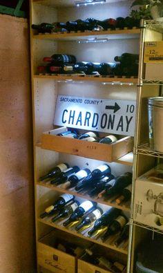 Billy wine rack