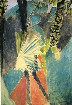 Henri Matisse (Fr. 1869-1954) The Palm (1912)