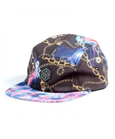 2755eed20db83 HYPE 5 panel Strapback Jelly Snapback Cap