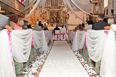 Dekoracje kościołów Szestno, Olsztyn, Warmińsko-Mazurskie Edan-Art #wesele #slub