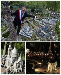 A Mini-Replica Of Paris, France | 29 Amazing Backyards That Will Blow Your Kids' Minds