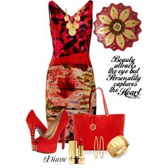 """""""Reds"""" by diane-shelton on Polyvore"""