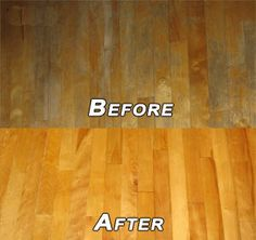 DIY Homemade Wood-Floor Cleaner