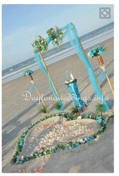 Found it... My wedding color.. Tiffany Blue & this is perfect beach setting!  Breathtaking says my Maid of Honor! #bff