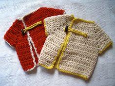 Bombay Love Baby Cardigan By Rima Aranha - Free Crochet Pattern - (ravelry)