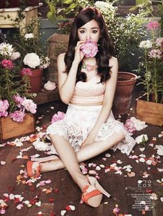 Tiffany Hwang SNSD CeCi Magazine August 2013
