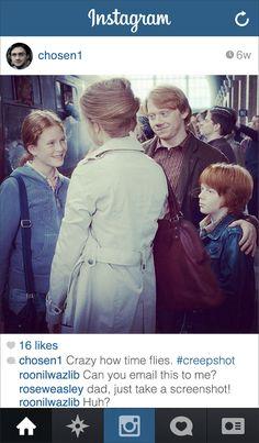 Si Harry Potter avait un compte Instagram