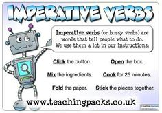 English~ Imperative Verbs