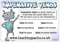 English~ Imperative Verbs