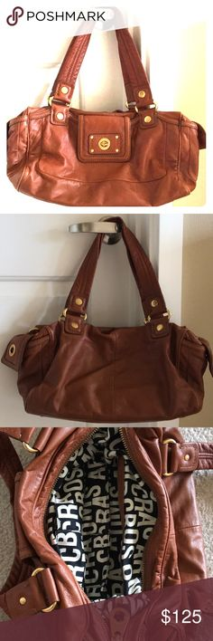 Marc by Marc Jacobs leather shoulder bag Real soft leather. Fits snugly under arm. Multiple pockets for storage. Marc By Marc Jacobs Bags Shoulder Bags