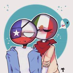 Mexico Chile, Mundo Comic, Country Art, Stupid Memes, Sonic The Hedgehog, Instagram, Kawaii, Comics, Countries