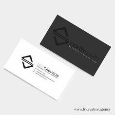 creative digital agency branding for 1000watt כרטיס ביקור