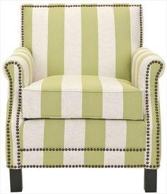 Safavieh Mercer Collection Charles Green and Beige Striped Linen Club Chair Safavieh http://www.amazon.com/dp/B0076PL68W/ref=cm_sw_r_pi_dp_HBfAvb0HNWB2R
