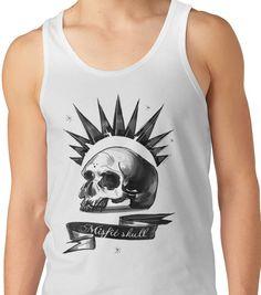 Mistic Skull  Unisex Tank Top