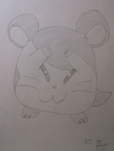Hamtaro Hamtaro, Colored Pencils, Sketches, My Favorite Things, Color Crayons, Colouring Pencils, Sketch, Paint Colors, Doodles