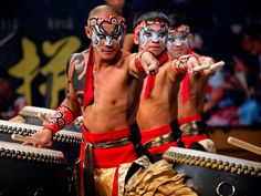 Dance to the beats of drums