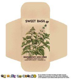 seed packet printables