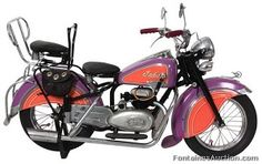 1940's Indian Carousel Motor Cycle