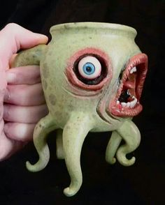 Is this an octopus mug or is it a squid mug? I do like the tentacles, but I'm still not sure about the mouth.