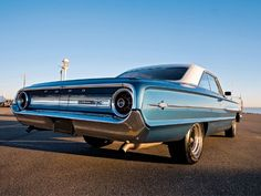 1964 Ford Galaxie 500 XL - loved this car before the brakes went out on me at the bank in Palm Desert