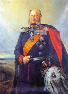 William war der König von Preußen (2. Januar 1861 - 9. März 1888) und die erste deutsche Kaiser (18. Januar 1871 - 9. März 1888), ebenso wie der erste Staatsoberhaupt des vereinten Deutschland. Unter der Leitung von William und sein Ministerpräsident Otto von Bismarck, erreicht Preußen die Vereinigung von Deutschland und die Gründung des Deutschen Reiches.