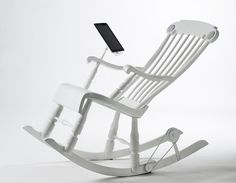 iRock : le Rocking Chair pour iPad #Deco #Geek