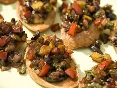 Cocoa Caponata On Crostini *Ingredients* 5 tbsp olive oil 4 tbsp red ...