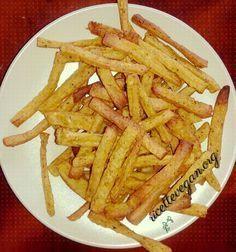 Gi stick di ceci sono un'alternativa sana alle classiche patatine, meno grasse, più proteiche e genuine. Ottima idea sia per accompagnare