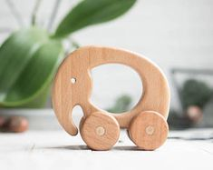 Items similar to ANY 9 animals - Organic wooden toy - Waldorf handmade wooden toy set on Etsy Making Wooden Toys, Handmade Wooden Toys, Wooden Baby Toys, Wood Toys, Wooden Animal Toys, Push Toys, Woodworking Toys, Homemade Toys, Learning Toys