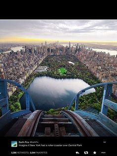 If there was a roller coaster in the middle of Central Park