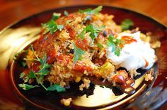 Mexican lasagna...I've enjoyed this recipe before and of course looking for it on the pioneer woman's website made me pin 10 other recipes