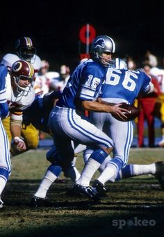 Bill Munson - Detroit Lions