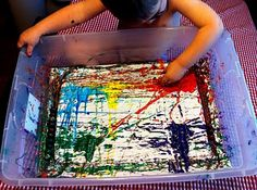 Marble painting...