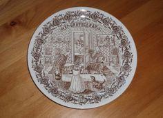 Swedish Vintage Decorative Plate VDN B555 by OLaLaVintage on Etsy