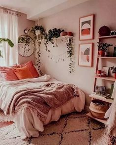 49 Fantastic College Bedroom Decor Ideas and Remodel .- 49 Fantastic College Schlafzimmer Dekor Ideen und Remodel … 49 Fantastic College Bedroom Decor Ideas and Remodel … – - College Bedroom Decor, Home Bedroom, Master Bedroom, Bedroom Inspo, Bedroom Apartment, Boho Dorm Room, Bedroom Decor Boho, College Apartment Bedrooms, Bohemian Bedrooms