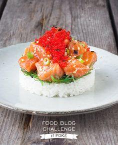 In deze eerste food blog challenge maken we Hawaiiaanse poke een rauwe vis salade met Aziatische invloeden.