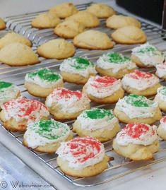 Frosted Ricotta Cookies #TwelveDaysofSanta | Webicurean