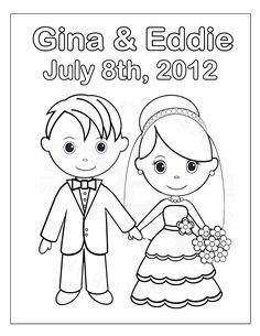Free Printable Wedding Coloring Pages | Free Printable Wedding ...