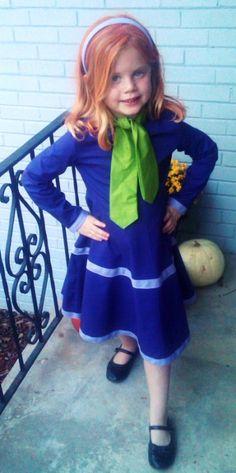 Daphne (Scooby Doo) little girls costume