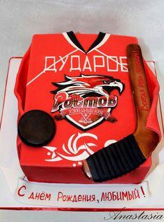 Hockey cake HC Rostov Торт для хоккеиста ХК Ростов