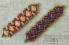 Linda's Crafty Inspirations: Playing with my beads...Vivian's Bracelet