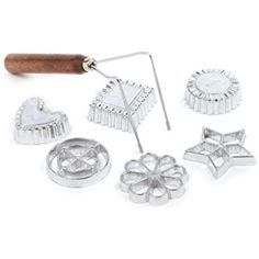 Amazon.com: Norpro Rosette/Timbale, 7 Piece Set: Kitchen & Dining