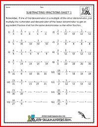 133 best 5th grade math images on pinterest 5th grade math school subtracting fractions 1 adding subtracting fractions 5th grade fractions worksheets school worksheets math ibookread ePUb